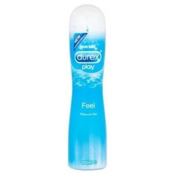 Play Natural Feel · Gel Lubricante · Durex
