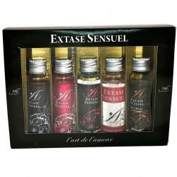 Cofret Trick or Treat · Kit afrodisíaco y lubricante · Extase Sensuel
