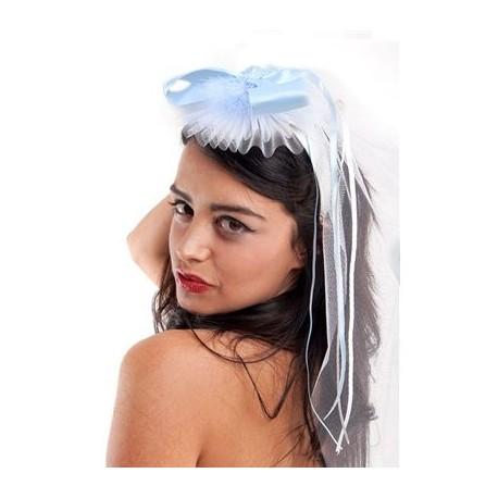 Velo de novia con tul blanco · Femarvi