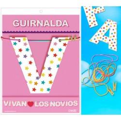 Guirnalda Vivan♥los Novios · Inedit