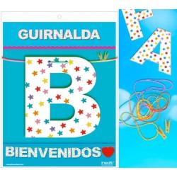 Guirnalda Bienvenidos ♥ · Inedit