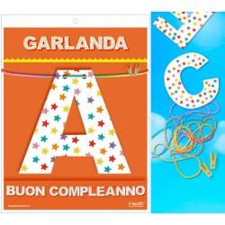 Guirnalda Buon Compleanno · Inedit