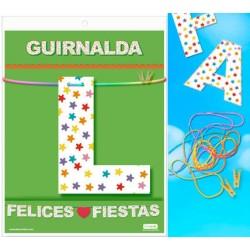 Guirnalda Felices♥Fiestas · Inedit