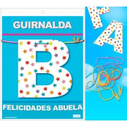 Guirnalda Felicidades Abuela · Inedit