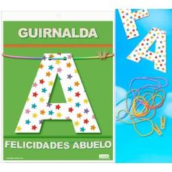 Guirnalda Felicidades Abuelo · Inedit