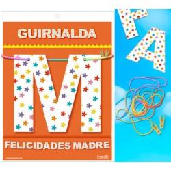 Guirnalda Felicidades Madre · Inedit