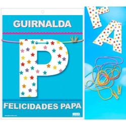 Guirnalda Felicidades Papá · Inedit