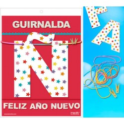 Guirnalda Feliz Año Nuevo · Inedit
