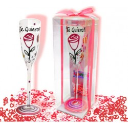 Te quiero · Copas cristal y confetti · Inedit