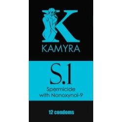 S.1· Preservativos con espermicida · Kamyra