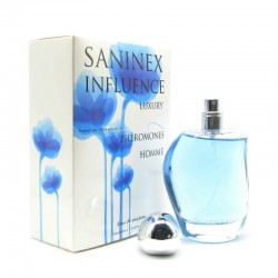 Influence Luxury Men · Eau de parfum phéromone · Saninex