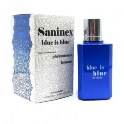 Blue is Blue Men · Eau de parfum phéromone · Saninex