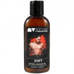 Soft · Aceite masaje con feromonas · NV By Nacho Vidal