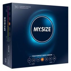 My Size 57 · Preservativos 36 Uds