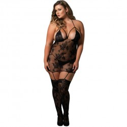 Strappy suspender bodystocking · Leg Avenue