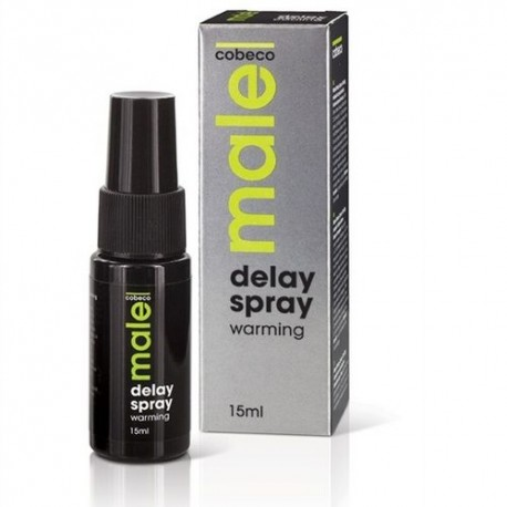 Male Delay Spray Warming · Cobeco