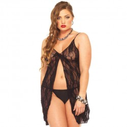 Rose Lace Babydoll · Leg Avenue