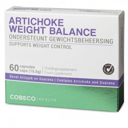 Artichoke Weight Balance 60 caps FlatPack · Cobeco