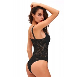 Black Sexy Push Up Lace Teddy · Dear Lover