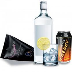 Vodka- Redbull 10 ml · Aceite efecto calor · Voulez-Vous