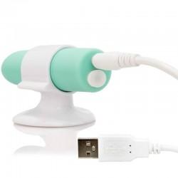 Charged™ Positive™ · Vibrador recargable verde · Screaming O