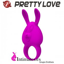 Naughty Bunny · Anillo vibrador recargable · Pretty Love