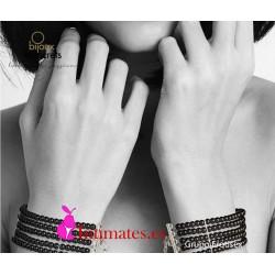 Plaisir Nacré · Esposas de perlas negras · Bijoux