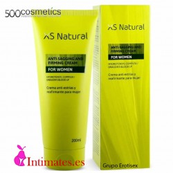 XS Natural · Crema antiestrías y reafirmante· 500Cosmetics