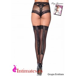 Fishnet Panty & Thigh High Set · Leg Avenue