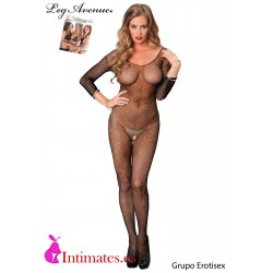 No. 89141 · Bodystocking de lurex dorado · Leg Avenue