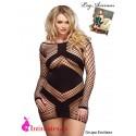 No. 86593Q · Mini vestido de encaje + · Leg Avenue