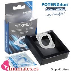 Maximus · Anillo potenciador erección · Potenz duo