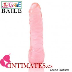 Super excitement · Pene realístico 163mm rosa ·  Baile