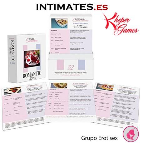 Encuentros íntimos · Recetas románticas · Kheper Games