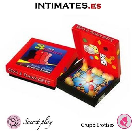 Tres en Raya · Juego erótico · Secret Play