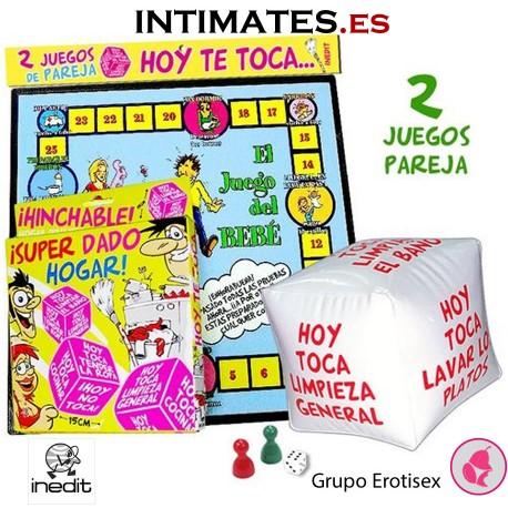 Hoy te toca... · 2 Juegos de pareja · Inedit en intimates.es