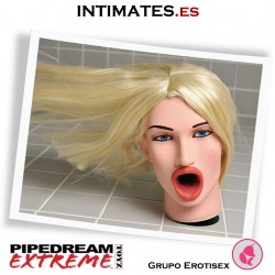 Face Fucker · Rostro 3D rubia real · Extreme Toyz