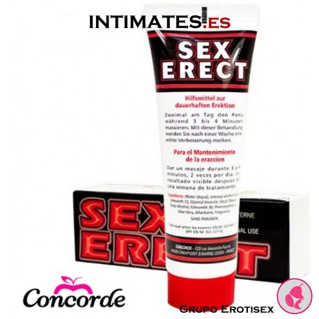 Sex Erect 50ml · Crema masculina · Concorde
