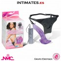 "Complete satisfaction · Strap-On vibrador 7"" · Nanma"