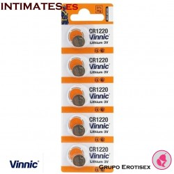Pilas  CR1220 3V Lithium Button 5u. · Vinnic