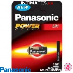 Pila alcalina LR1 PowerCells · Panasonic
