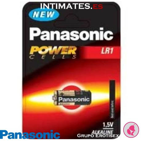 Pila alcalina LR1 PowerCells · Panasonic