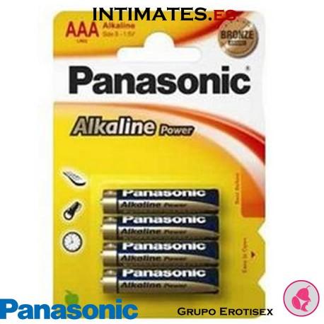 Pilas alcalinas LR03/AAA Powermax3 4u. · Panasonic