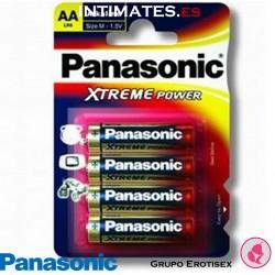 Pilas alcalinas LR6/AA Xtreme Power 4u · Panasonic