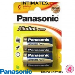 Pilas LR14 1,5 V 2u · Panasonic