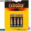 Pilas especial duración LR03/AAA 4v · ExtraStar