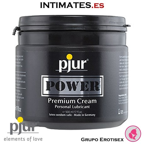 Pjur Power 500ml · Crema lubricante · Pjur