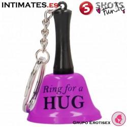 Ring For A Hug - Llavero lila · Shots