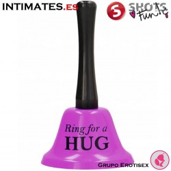Ring For a Hug - Campana grande lila · Shots