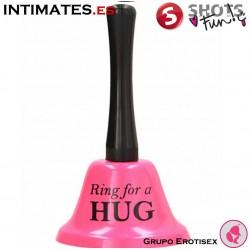 Ring For a Hug - Campana grande rosa · Shots